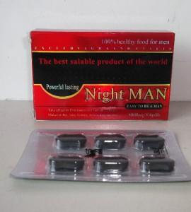 Thuốc cường dương Night Man 8000mg tăng sinh lý cho nam hiệu quả