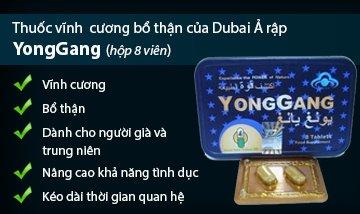 Thuoc YongGang thao duoc tang sinh ly tot nhat hien nay